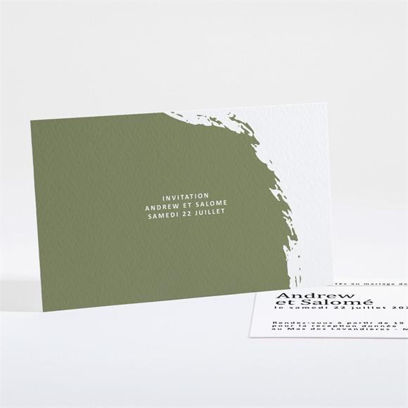 Carton d'invitation mariage Love touch réf.N16150