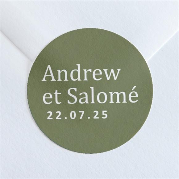 Sticker mariage Love touch réf.N36007