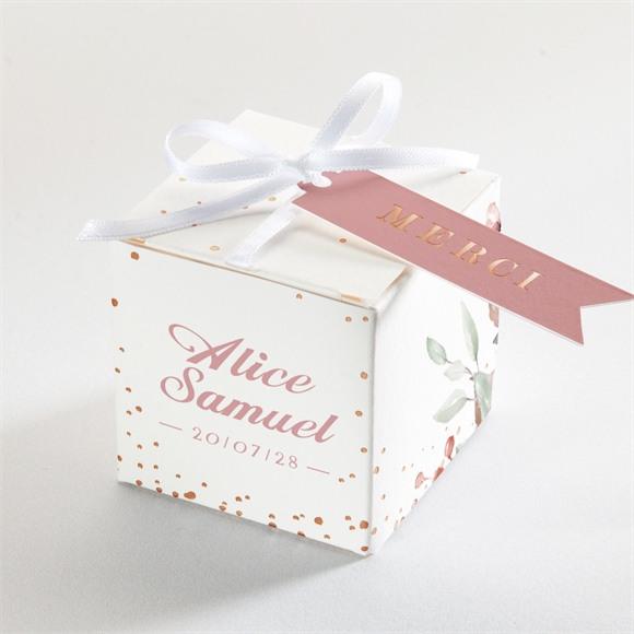 Boîte de dragées mariage Baroque réf.N340213