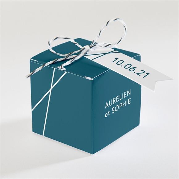 Boîte de dragées mariage Mon océan bleu réf.N340212