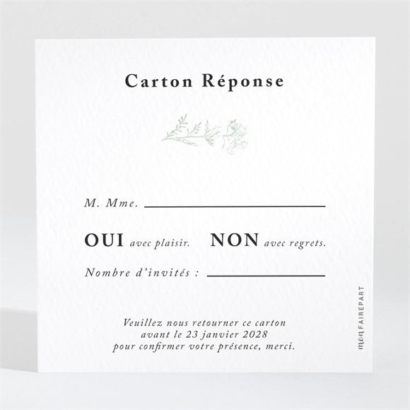 Carton réponse mariage Belle nature réf.N3001554