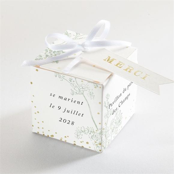 Boîte de dragées mariage Belle nature réf.N340214