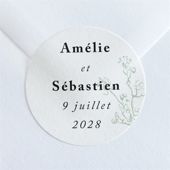 Sticker mariage Belle nature réf.N36012