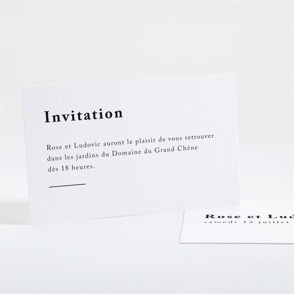 Carton d'invitation mariage Mon Roc réf.N16148
