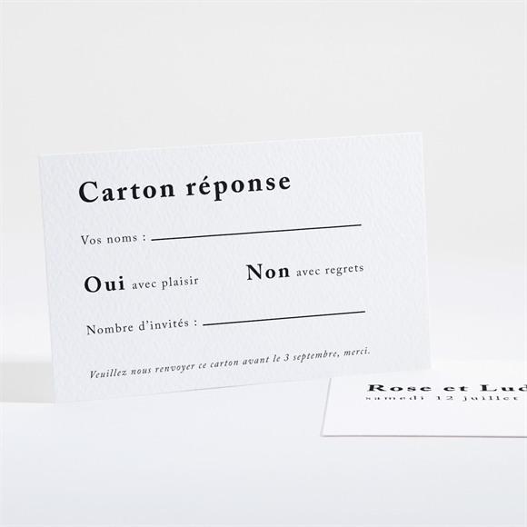 Carton réponse mariage Mon Roc réf.N16149