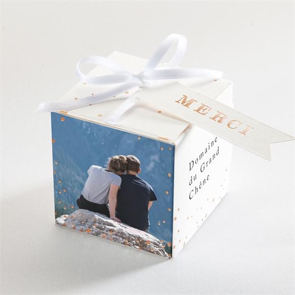 Boîte de dragées mariage Mon Roc réf.N340210