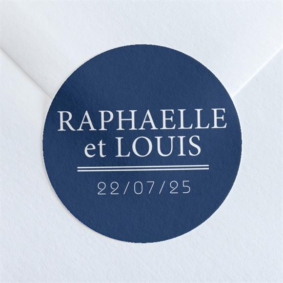 Sticker mariage l'Essentiel réf.N36015