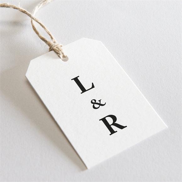 Etiquette mariage Dessin d'amour réf.N29116