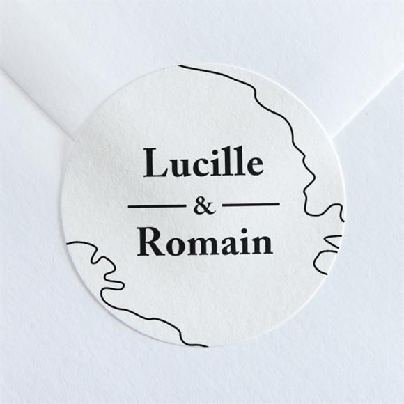 Sticker mariage Dessin d'amour réf.N36016