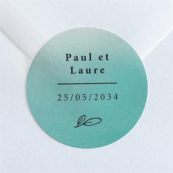 Sticker mariage Lagon réf.N36017