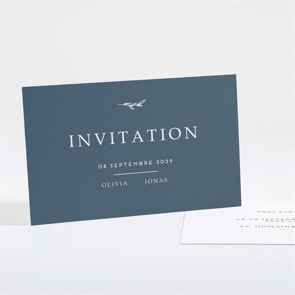 Carton d'invitation mariage Délicatesse réf.N16156