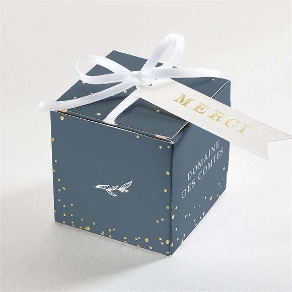 Boîte de dragées mariage Délicatesse réf.N340219