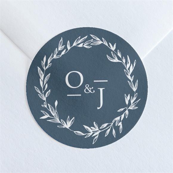 Sticker mariage Délicatesse réf.N36018