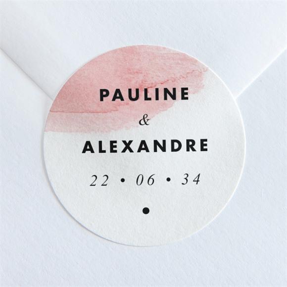 Sticker mariage Elegantes nuances réf.N36019