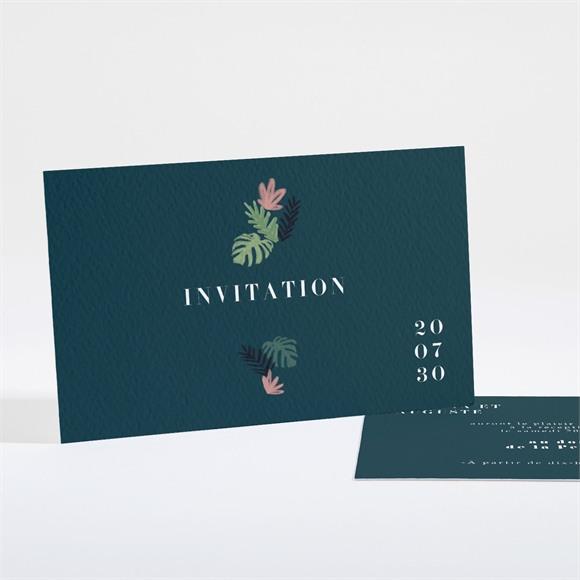 Carton d'invitation mariage Champêtre design réf.N16158