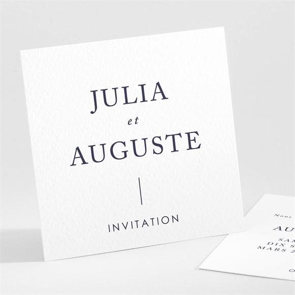 Carton d'invitation mariage Mon Coeur réf.N301119