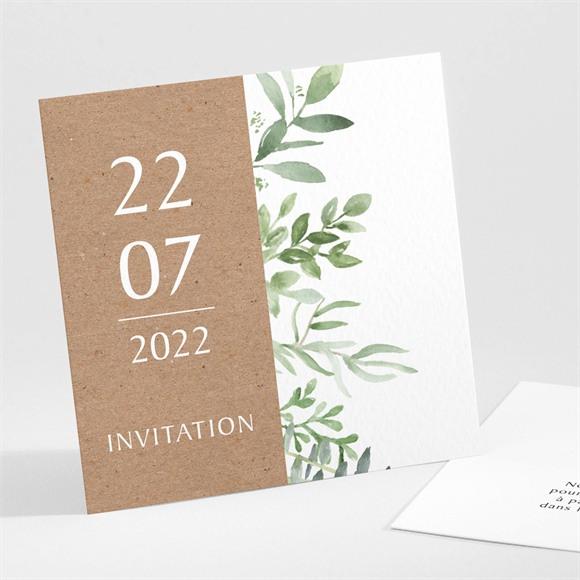 Carton d'invitation mariage Love power réf.N301121