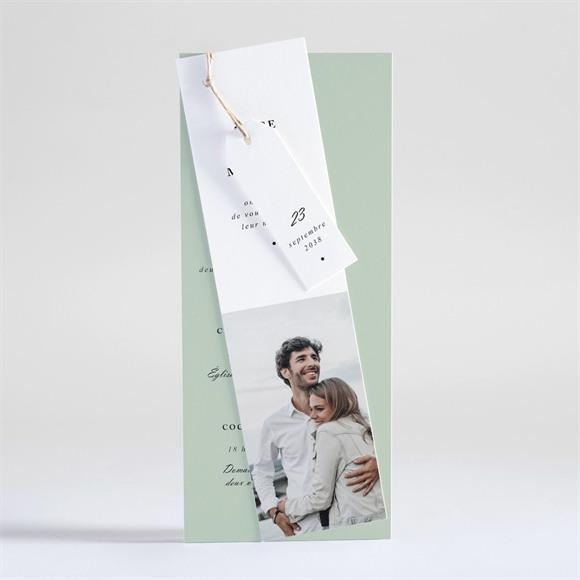 Faire-part mariage Tendre amande réf.N93105