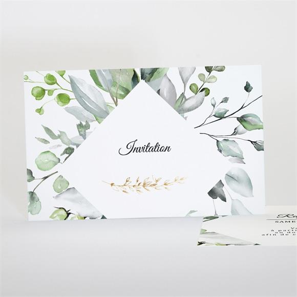 Carton d'invitation mariage Explosion réf.N17117