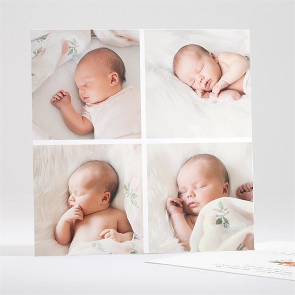 Faire-part naissance 4 photos réf.N35128