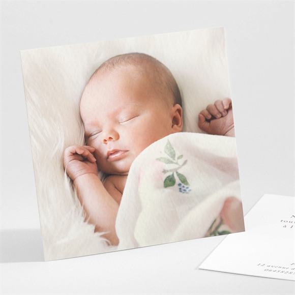 Remerciement naissance 4 photos réf.N301129