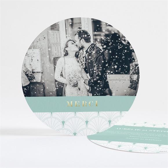 Remerciement mariage Graphique réf.N321130