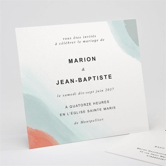 Faire-part mariage Pastel réf.N311243