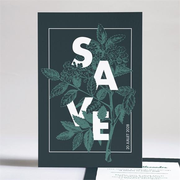 Faire-part mariage Save the date gravure réf.N241174