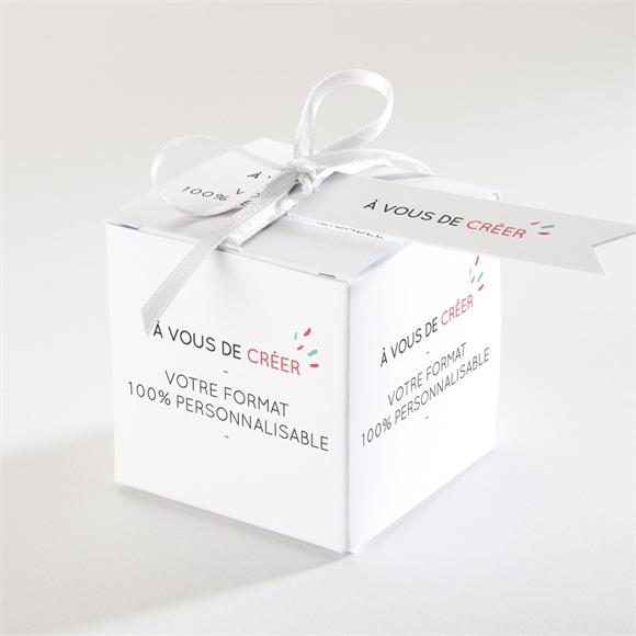 Boîte de dragées mariage réf. N340222 réf.N340222