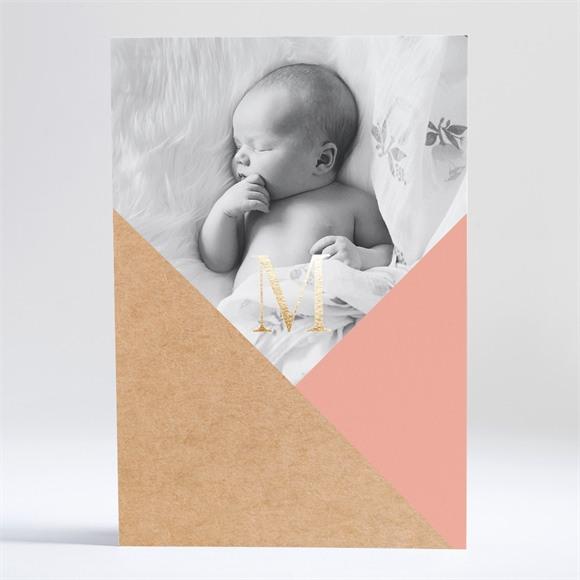 Faire-part naissance Découverte pastel réf.N241178