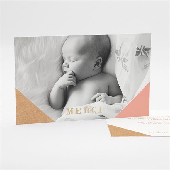 Remerciement naissance Découverte pastel réf.N17124