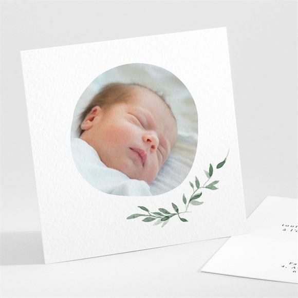Remerciement naissance Les petits Coins champêtres réf.N301147