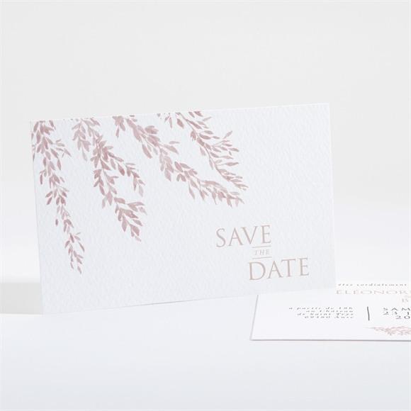 Carton d'invitation mariage Sous le saule réf.N16172