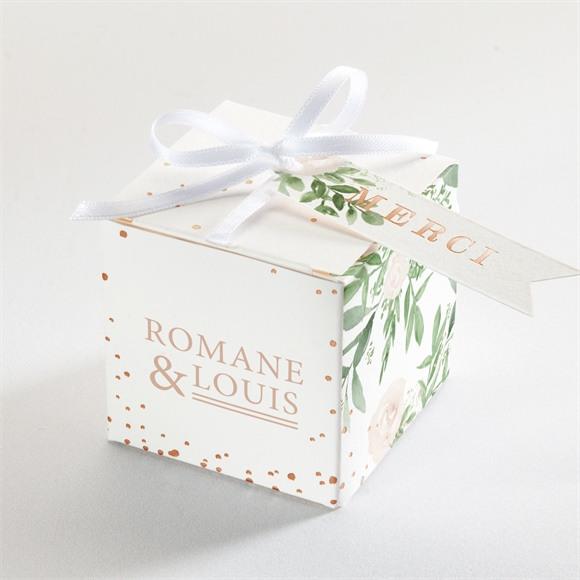 Boîte de dragées mariage Branches printanières réf.N340229