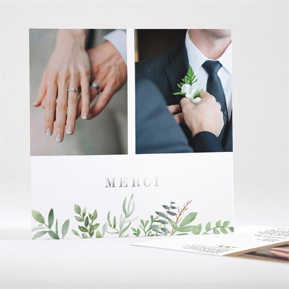 Remerciement mariage Fougères réf.N35140