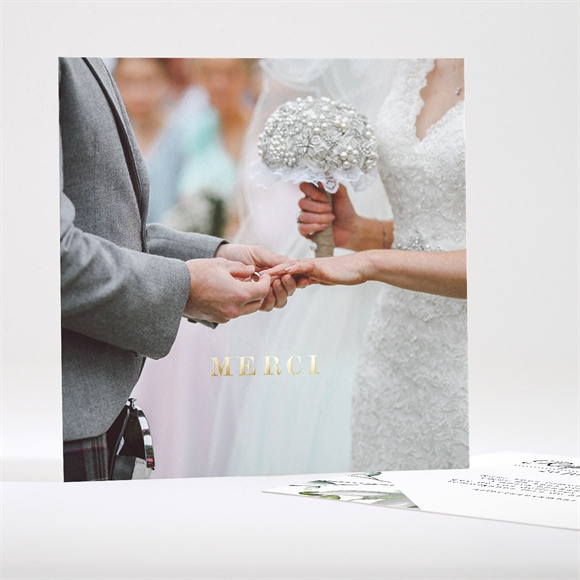 Remerciement mariage Explosion réf.N35141