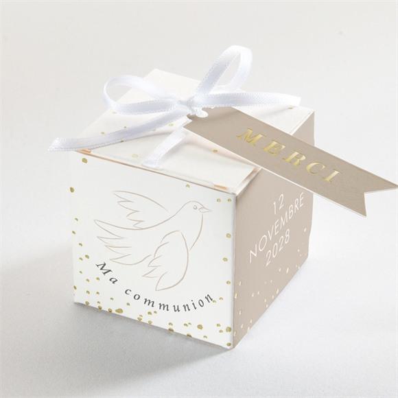 Boîte de dragées communion Le Sacrement réf.N340232