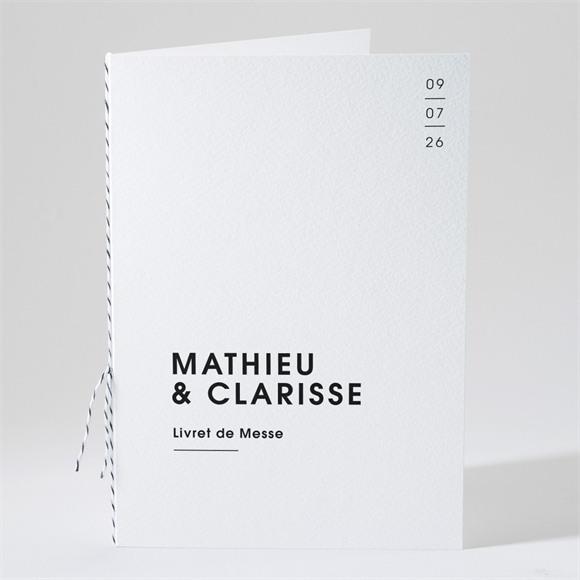Livret de messe mariage Love direction réf.N491136