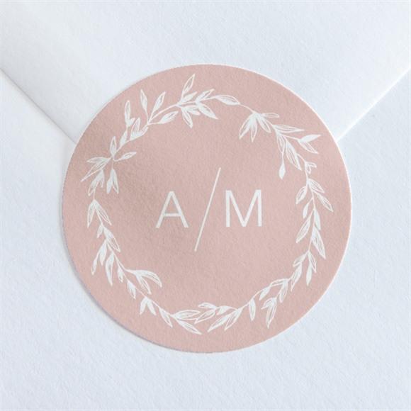 Sticker mariage Romance rétro réf.N36030
