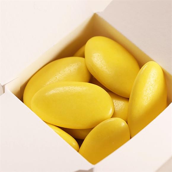 Dragées communion chocolat vert anis