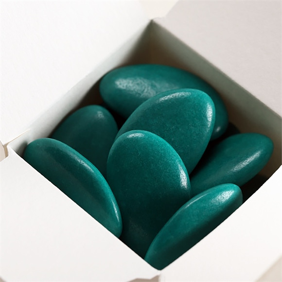 Dragées chocolat communion gris