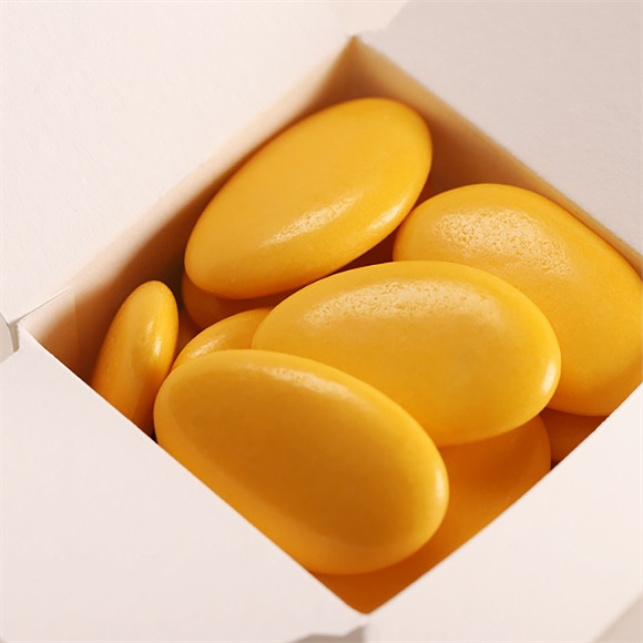Dragées chocolat communion lilas