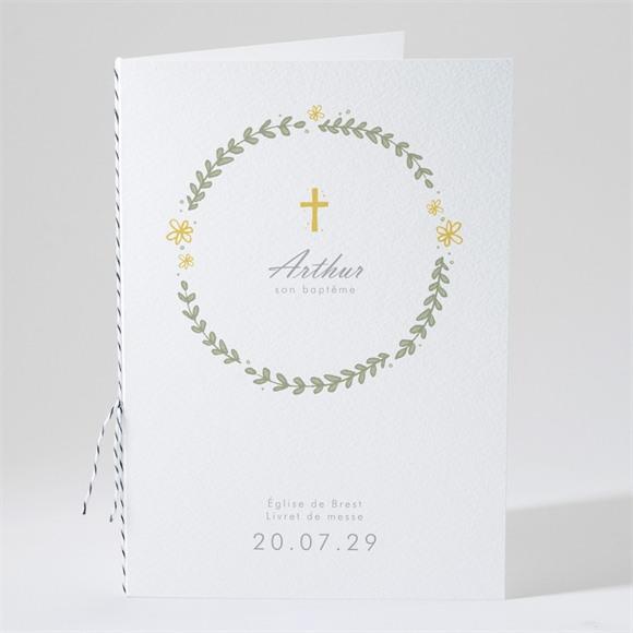 Livret de messe baptême Annonce en rondeur ! réf.N491139
