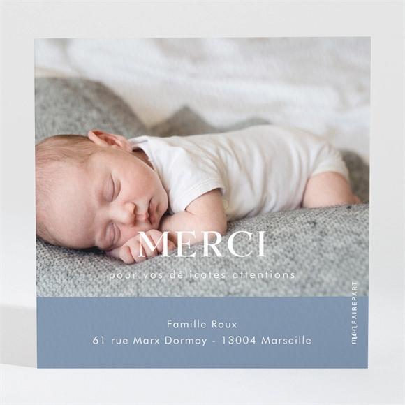 Remerciement naissance Moderne et tendance réf.N3001583