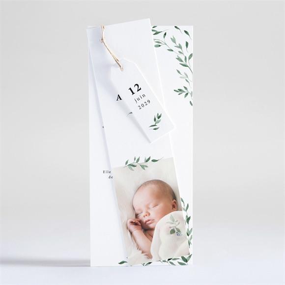 Faire-part naissance Douceur végétale réf.N93107