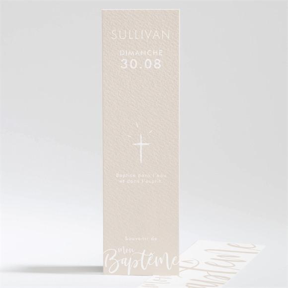 Signet baptême Lettre de cuivre réf.N20159