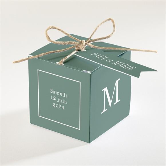 Boîte de dragées mariage Se serrer fort réf.N340252