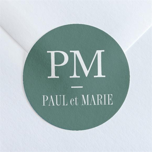 Sticker mariage Se serrer fort réf.N36035