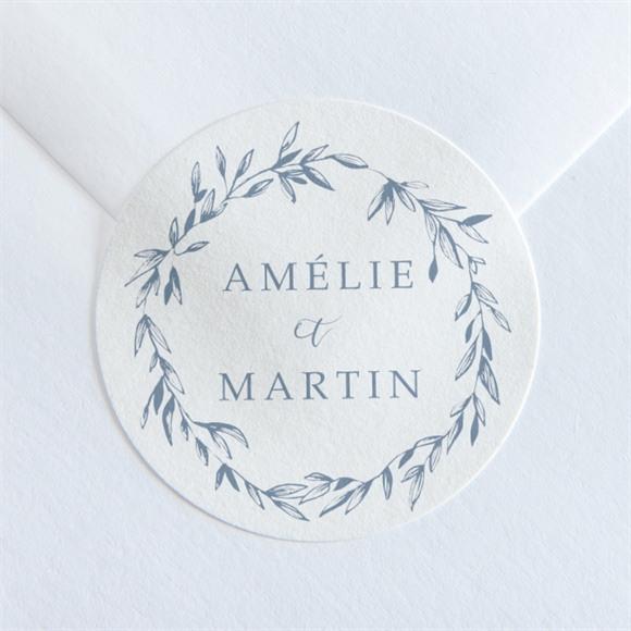 Sticker mariage Composition végétale réf.N36036