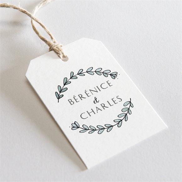 Etiquette mariage Douce mélodie réf.N29139